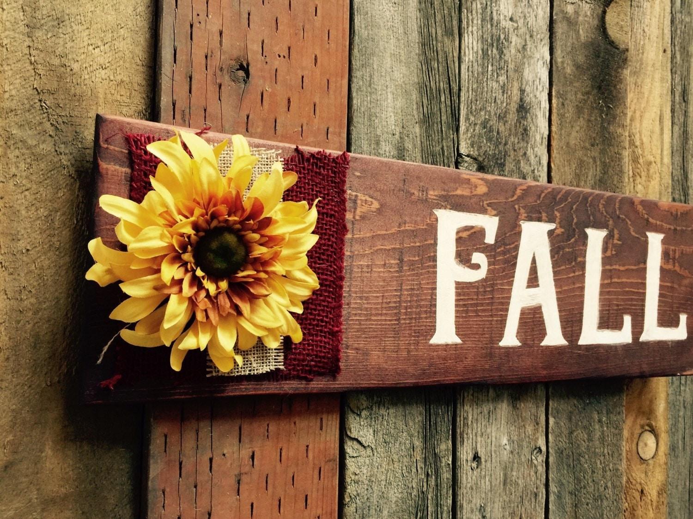 On sale fall wood sign harvest decor thanksgiving sign - Thanksgiving decorations on sale ...