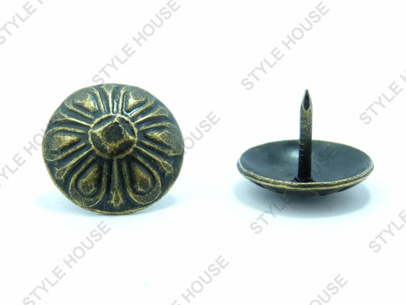 16mm Bronze Finish Decorative Rustic Upholstery By
