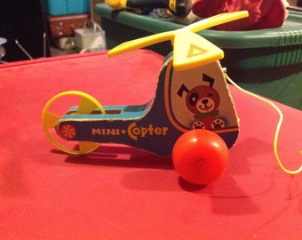 Vintage fisher price mini-copter