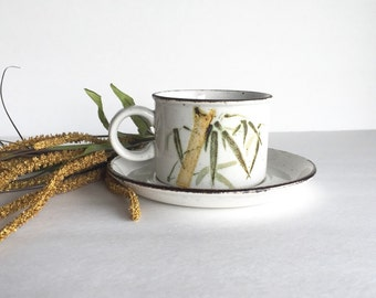 S A L E Vintage Midwinter Stonehenge Rangoon Flat Cup and Saucer
