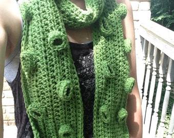 Crochet Tentacle Scarf