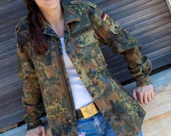 Genuine German army jacket combat field