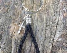 Horse Hair Key Chain Loop by Equine Keepsakes