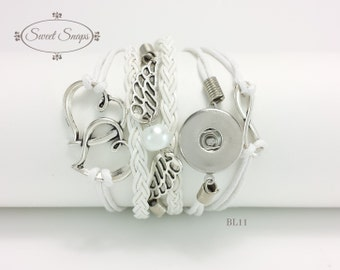 Leather Bracelet (BL11)