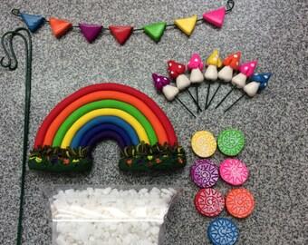 fairy Garden Mini Rainbow kit
