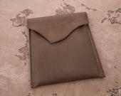 Leather iPad Sleeve   Rustic iPad Sleeve   Handmade in the U.S.A.