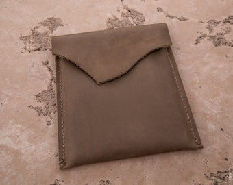 Leather iPad Sleeve | Rustic iPad Sleeve | Handmade in the U.S.A.