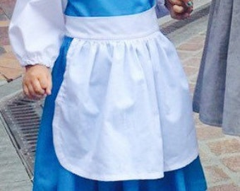 Belle Costume, Disney Inspired Play dress