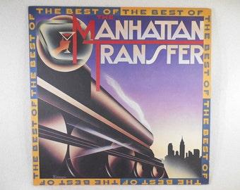The Best Of The Manhattan Transfer Vintage Vinyl LP
