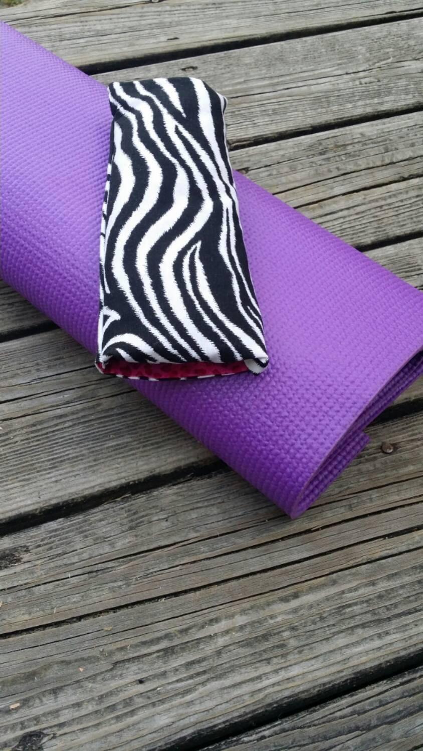 Yoga Eye Pillow / Relaxing Eye Pillow animal prints cover / yoga accessories / Meditation Eye ...