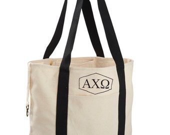 Alpha Chi Omega Tote Bag