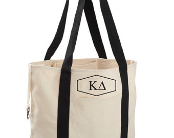 Kappa Delta Canvas Tote Bag