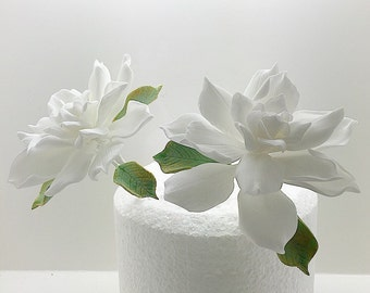 Gardenia sugar flower