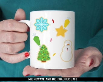Coffee Mug Christmas Cookies Coffee Cup