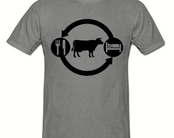 Eat Sleep FARM,COW t shirt,men's t shirt sizes small- 2xl, FARMING men's t shirt