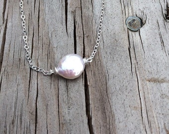 Single Freshwater Pearl Necklace