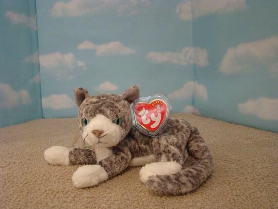 d2cf0d8bec0 Ty Kittens   Ty Beanie Baby Babies Pounce The Cat Original 1997 ...