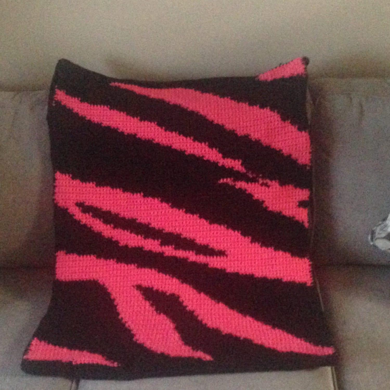 Crochet Zebra Print Baby Blanket Pattern : Crochet Blanket Pattern Zebra Print Baby Blanket Crochet