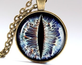 Devil eye pendant Demon eye necklace Evil eye jewelry LG150