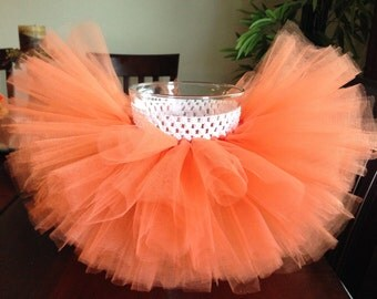 Orange tutu, pumpkin tutu, halloween tutu, costume tutu, pumpkin costume, baby, newborn, toddler, girl, birthday, orange, halloween, tutu