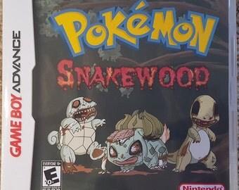 Custom Pokemon Rom Hacks, Pokemon Snakewood