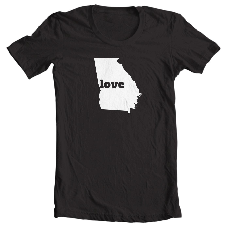 Georgia T-shirt - Love Georgia - My State Georgia T-shirt
