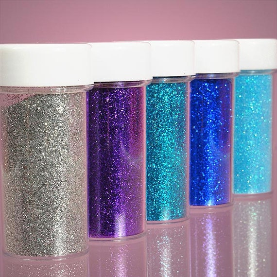 silver color glitter powder in a jar pick from by. Black Bedroom Furniture Sets. Home Design Ideas