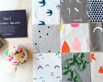 Screen Printed DIY Swallow's Nest Baby/Child's Quilt