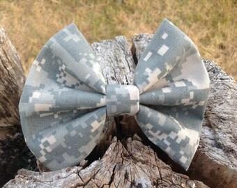 Military Camo Bow