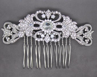 Stunning vintage inspired bridal headpiece