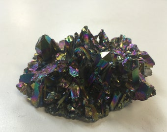 Titanium Aura Quartz Cluster ON SALE