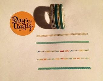 3mm Washi Tape Set