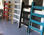 4 ft x 23 inches Blanket Ladder -Hand Crafted in the USA...Please specify which color when ordering thank you.