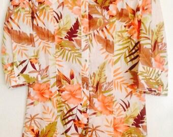 SALE ITEM Vintage shirt dress