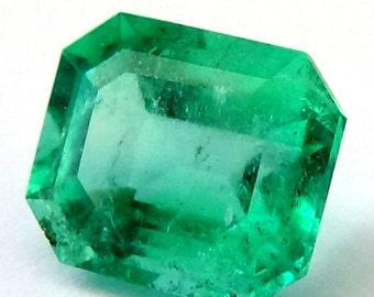Loose Emerald , Colombian Emerald , Green Emerald , Natural Emerald
