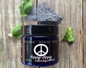 hippy dippy toothpowder featuring clays that strengthen, protect, and cleanse your teeth