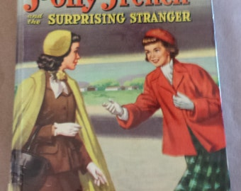 "Whitman Vintage Book ""Polly French and the Surprising Stranger"", 1950s!"
