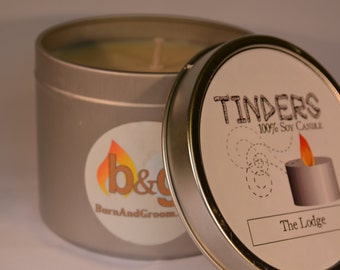 The Lodge 100% Soy Candle