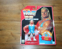 Mr. Perfect - WWF Wrestling Figure MOC Mint on Card Hasbro 1994 New Vintage Rare sealed WWE Action Toys 90s misb mib Mister