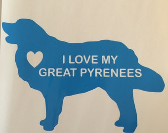 Great Pyrenees Decal