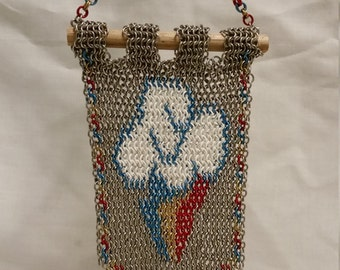 Small Chainmail Rainbow Dash Cutie Mark Banner