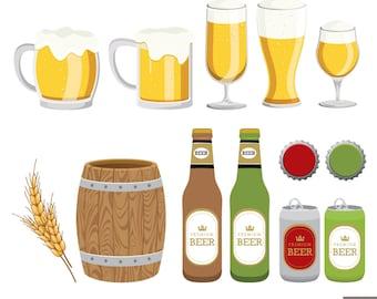Beers Digital Clipart