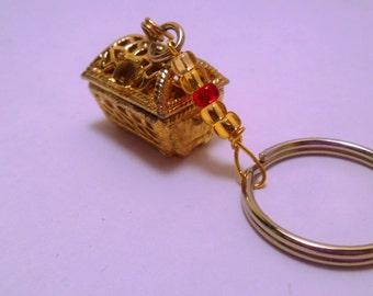 Treasure Chest Keychain