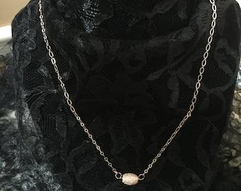 Rose Gold Necklace,Handmade