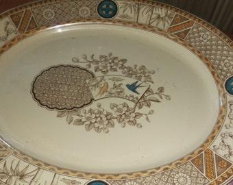 Beautiful antique platter