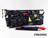 Spring Pocket pencil pencil bag case math