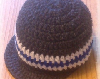 Newsboy hat, boys hat, winter hat, baby hat, baby shower gift