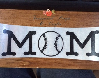 Sports Mom Decals, car decals, decal, mom decals, decals