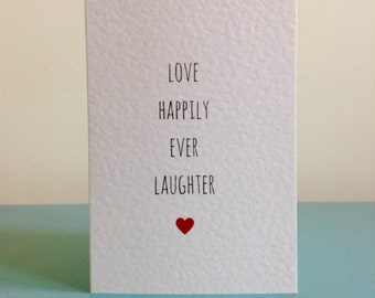 Love Happily Ever Laughter (heart)