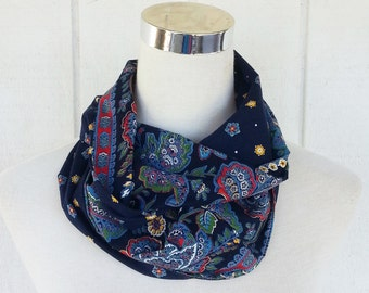 Infinity Scarves - Scarves - Accessories - Navy Scarf - Scarf -Loop Scarves